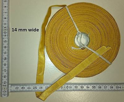 Imperial Germany Unteroffizier Kragentresse - 14mm - 1 Meter golden metal braid