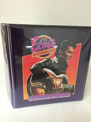 Elvis Collection Cards of His Life Album Binder 660 Complete Run Trading