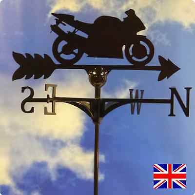 High Quality British Made Motorcycle Weathervane.(45B)
