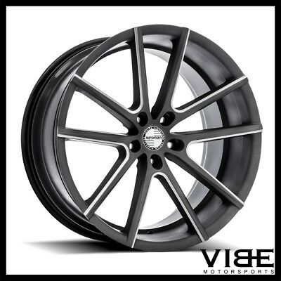 bmw f10 5 series v spoke 331 wheels rims 19 528i 535i 2 249 00 New BMW 5 Series 2015 19 sporza v5 machined concave wheels rims fits bmw f10 f11 528i 535i 550i