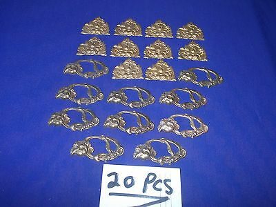 20 pieces vintage brass ormolu i am selling 20 pieces for