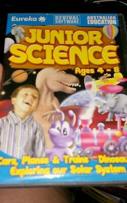 Junior Science Ages 4-8 PC GAME - FREE POST