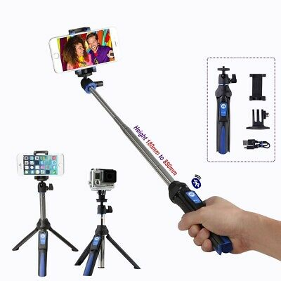 Benro Smart Mini Tripod and Selfie Stick with Bluetooth Wireless Remote (BK10)