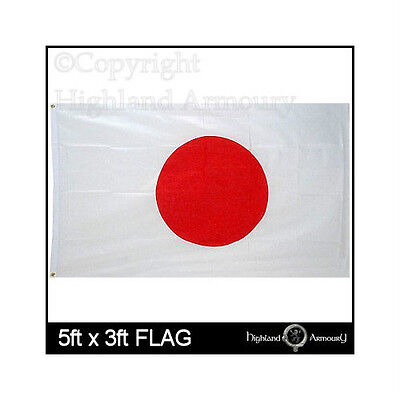 5' x 3' JAPAN JAPANESE NATIONAL FLAG Asia Nippon Large Flags