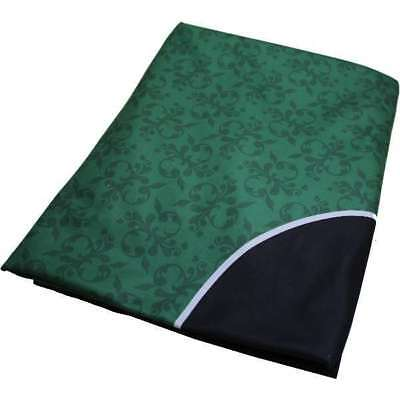 Dye Sublimation Casino Poker Table Cloth - Green
