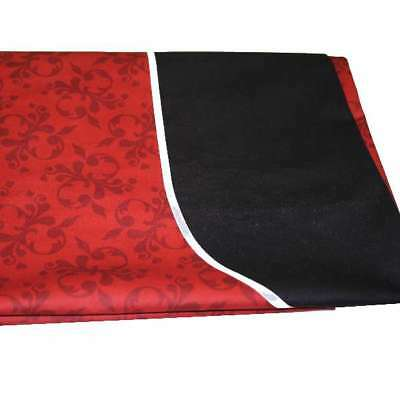Dye Sublimation Casino Poker Table Cloth - RED
