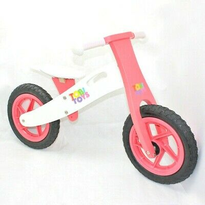 Wooden Balance Bike Pretend Play Preschool Imaginative Educational