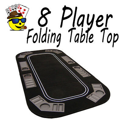 8 player Poker Table Top