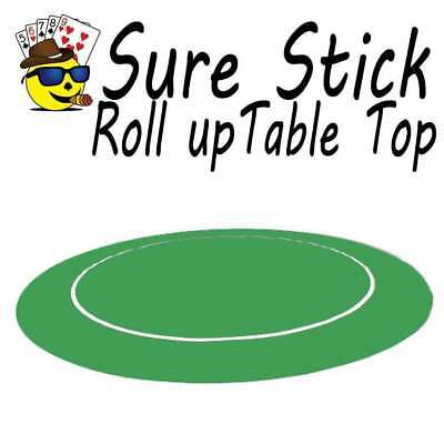Sure Stick Rubber Table Top - Green Round