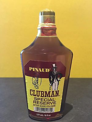 Pinaud Clubman Special Reserve After Shave Cologne 6 oz On Sale!