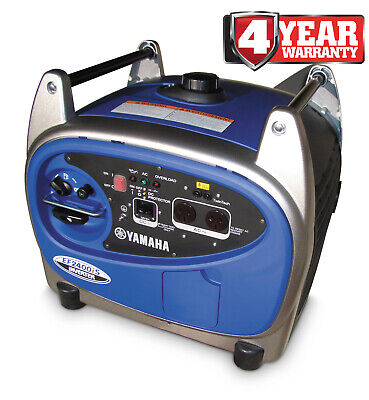 Yamaha 2.4 kVA 2400W Max |2.0 Rated Pure Sine Wave Inverter Generator - EF2400iS