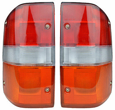 Pair of Tail Lights Nissan Patrol 08/87-10/93 New GQ Rear Lamps 88 89 90 91 92