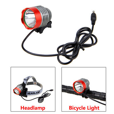 8000Lm CREE XM-L T6 LED Cycling Bicycle Bike Light HeadLight 4X18650+Rear Light