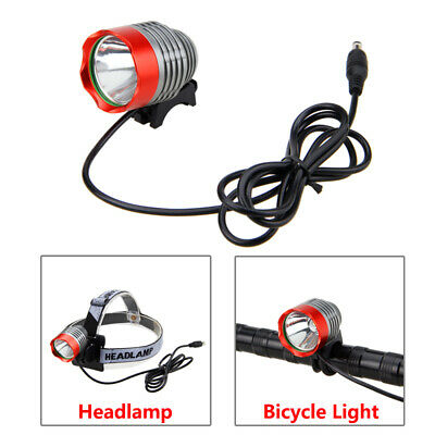 8000Lm CREE XM-L T6 LED Fornt Cycling Bicycle Bike Light HeadLight + Rear Light