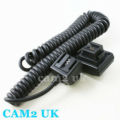 TTL Off Camera Shoe Flash Cord for SONY Alpha FA-01 HVL-F42AM A390 A550 A77 A580