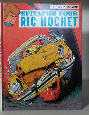 1976-Ric-Hochet-Epitaphe Pour Ric-hochet-Lombard-in4-Tibet&Duchateau