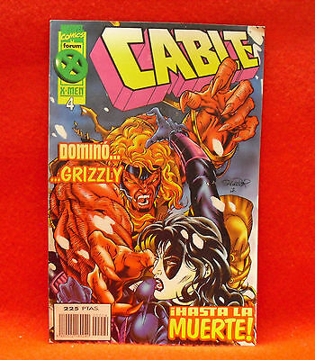 Cable. Marvel Comics Especial X-Men 20 Aniversario Nº 4