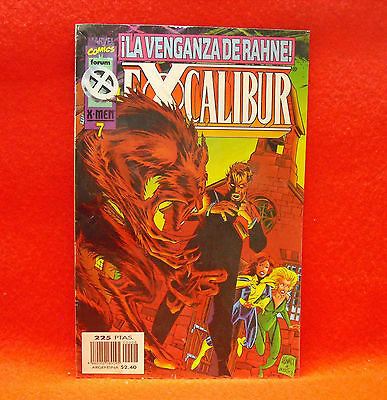 Excalibur. Marvel Comics X-Men. Nº 7