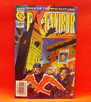 Excalibur. Marvel Comics X-Men. Nº 8 - Comic Coleccionismo