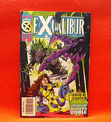 Excalibur. Marvel Comics X-Men. Nº 4