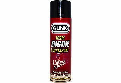 Gunk Foam Degreaser 500Ml Spray Foaming Degreasant Cleaner Degrease Engine Clean