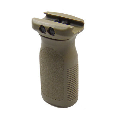 Element Airsoft Rvg Forward Grip Dark Earth Railed Vertical Grip Ris Airsoft