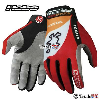 Hebo OFFICIAL HRC Repsol Montesa Honda Team Gloves - TRIALS/ENDURO/OFFROAD