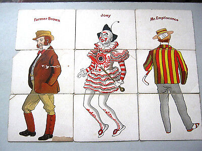 PLAYING CARDS ANTIQUE FAULKNER MISFITZ 1898 2nd ONE PRODUCED 23 x3 CARD SETS