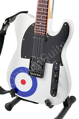 Miniature Guitar Pete Townshend THE WHO & Strap