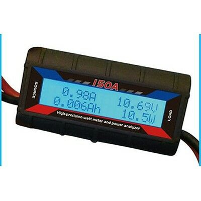 G.T.Power 130A RC Watt Meter & Power Analyzer Digital LCD Tester 12v 24v 36v