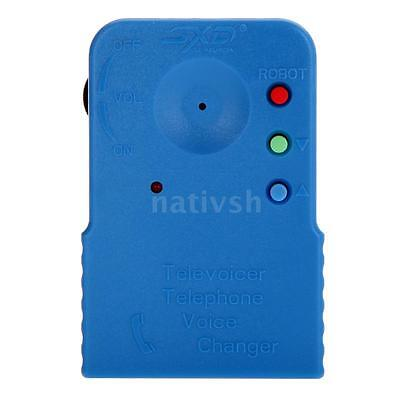 High Quality Portable Brand New Telephone Voice Changer Spy Sound Disguiser 45MX