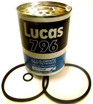 Fuel Filter Cav-7111/796 Diesel Engine Tractor Agco Massey Ford New Holl *bv345*
