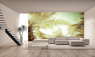 Summer with Tropical Palm Tree Wall Mural Photo Wallpaper GIANT WALL DECOR