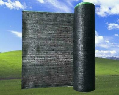 60%-70% UV Black Shade Cloth Sunshade Greenhouse for Width 6.5Ft Fabric Clips