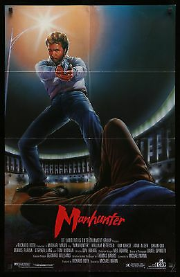 MANHUNTER - original film / movie poster
