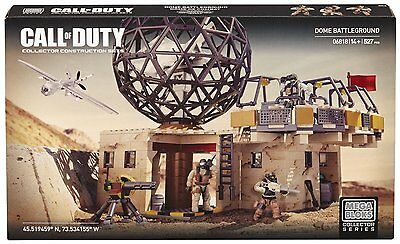 Mega Bloks Call of Duty Dome Battleground Collector Series Set 06818 - NEW