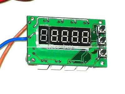 12V Digital PWM DC Motor CPU Fan Temperature Control Speed Controller 4 Way LED