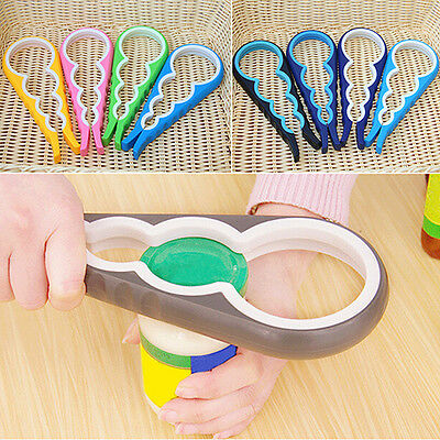 Picked 4 In 1 Utility Can Opener Screw Cap Jar Bottle Wrench Kitchen Tool