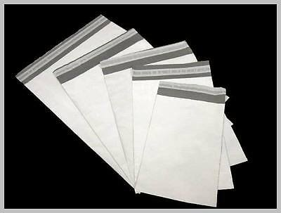 Poly Mailers (Plastic Envelopes) White/Grey 2.35 MIL Various sizes WHOLESALE!!!!