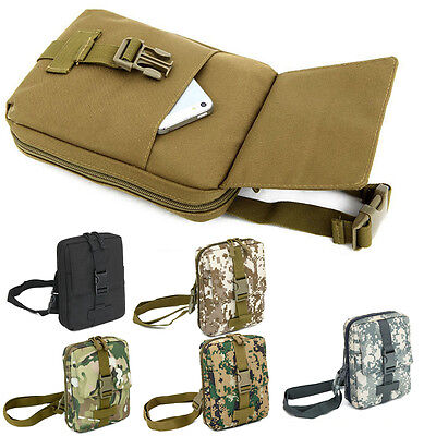 Outdoor Military Shoulder Tactical Backpack Camping Hiking Trekking Camo Bags