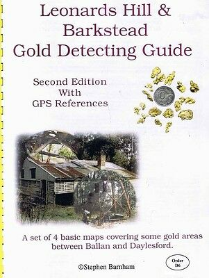 Leonards Hill and Barkstead Gold Detecting Guide by Stephen Barnham