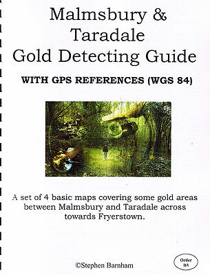 Malmsbury and Taradale Gold Detecting Guide by Stephen Barnham