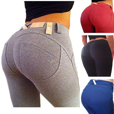Slim Sexy Women Skinny Jeggings Stretchy Pencil Pants Leggings Tight Trousers