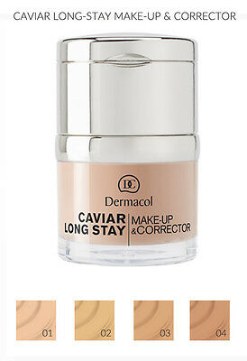Dermacol Caviar Long Stay Make Up & Corrector 30Ml