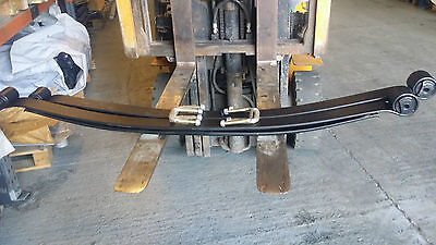 Pair of Rear 2 Leaf HD Springs Citroen Relay / Peugeot Boxer / Fiat Ducato 07 On
