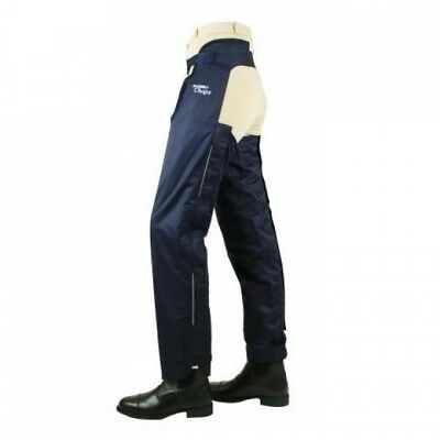 Horseware Adult Rambo Cotton Lined Chaps Navy