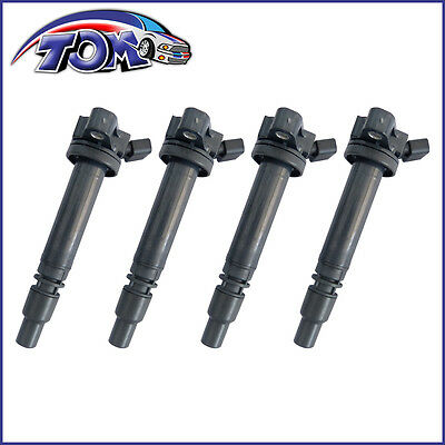 Brand New Set Of 4 Ignition Coil Packs For Pontiac Vibe Toyota Carolla 1.8L
