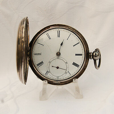 Silver Antique Pocket Watch from - JOS H JOHNSON. LIVERPOOL. Year 1853.