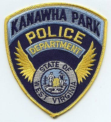 KANAWHA PARK WEST VIRGINIA WV wings state seal POLICE PATCH