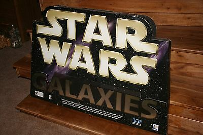 Star Wars Galxies Promotional Display